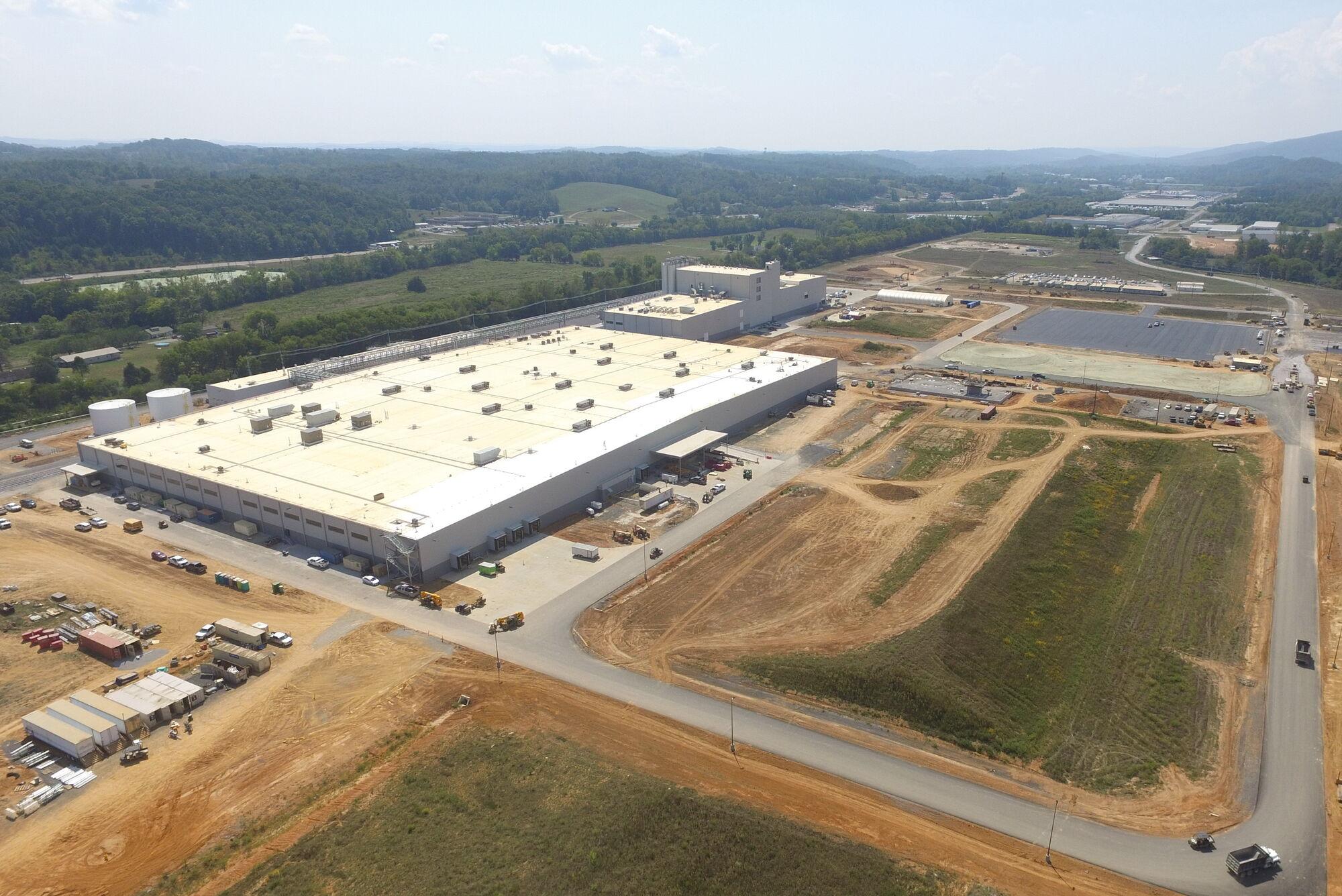 Производственный комплекс площадью более 77 тысяч м2 является одним из самых современных в отрасли