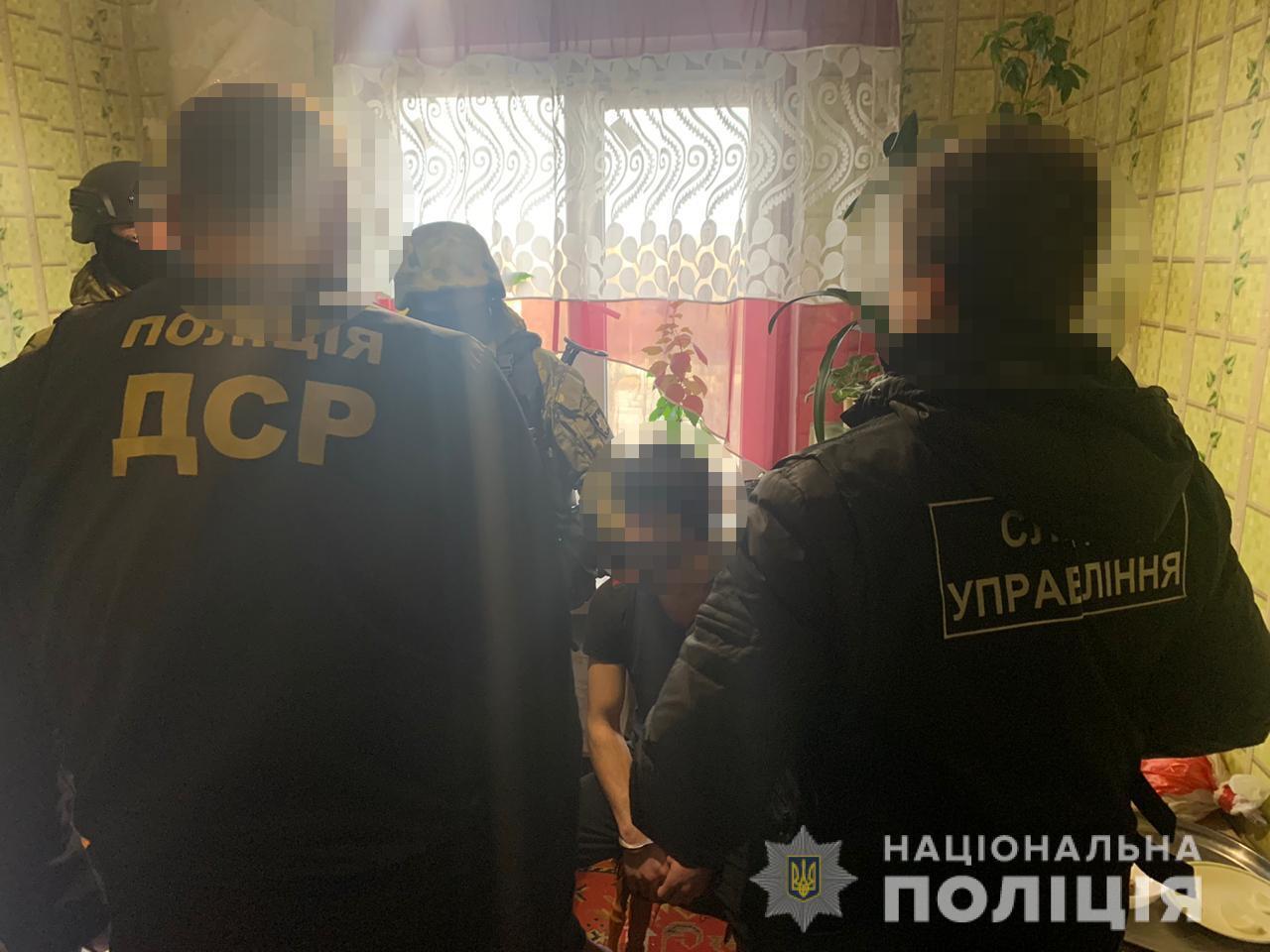 В Одессе полиция задержала членов опасной этнической банды