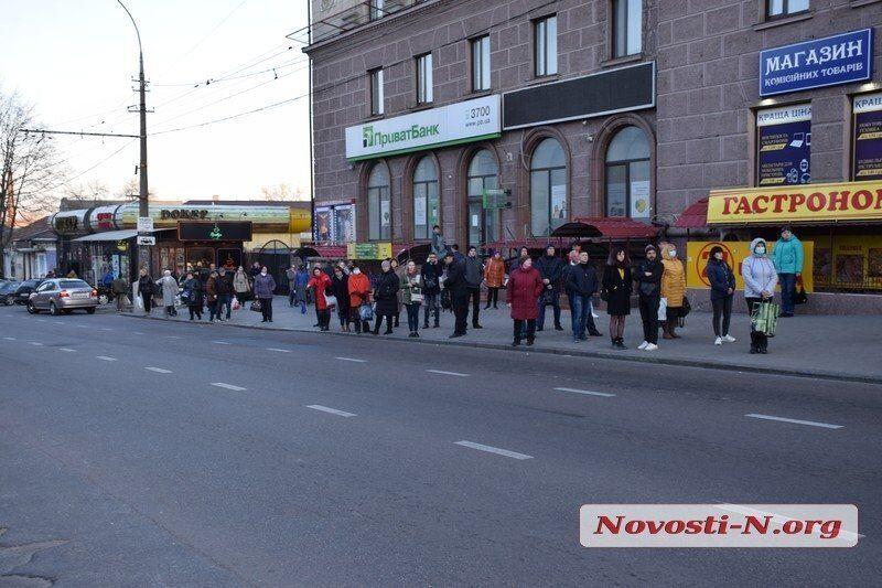 Транспортний колапс в Миколаєві