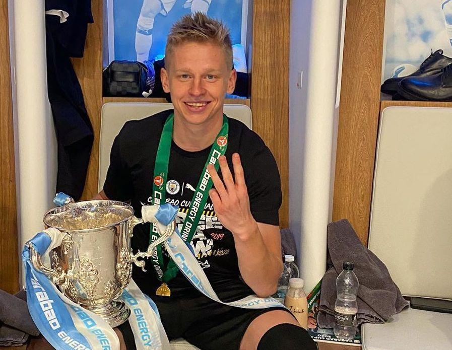 Александр Зинченко третий раз выигрывает Кубок английской Лиги