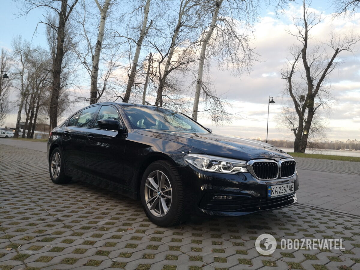BMW 520d сегодня предлагается со скидкой в 250 тысяч гривен