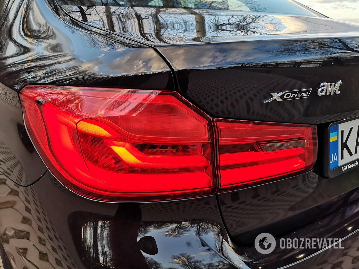 Тестовый BMW 520d был оснащен полноприводной трансмиссией