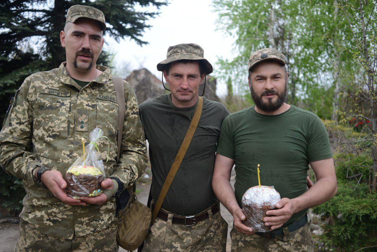 Владимир Федченко в зоне боевых действий