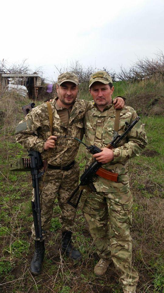 Владимир Федченко с побратимом