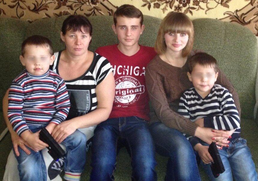 Семья Федченко