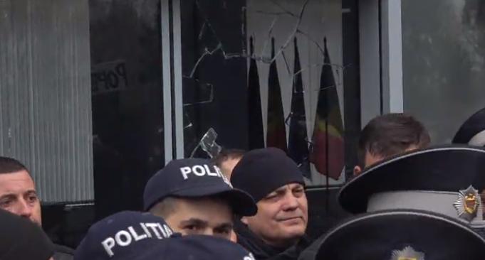 Протесты у здания Кабмина