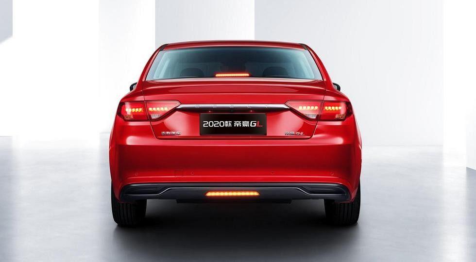 Корма Geely Emgrand GL схожа на Audi A5