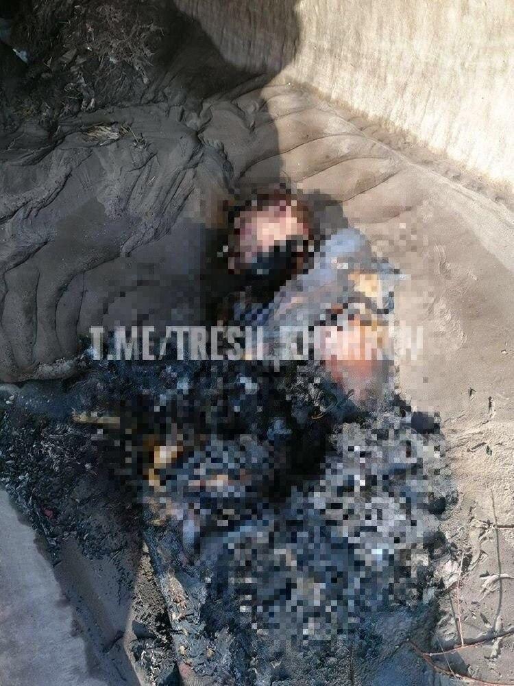 """У Харкові знайшли обгоріле тіло молодої жінки з хрестиком """"Врятуй і збережи"""""""