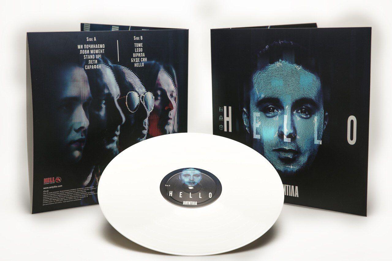 Альбом Hello на вінілі