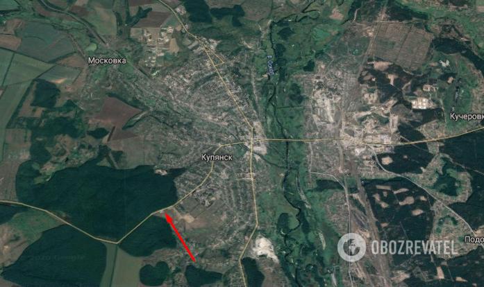 ДТП произошло на въезде в Купянск