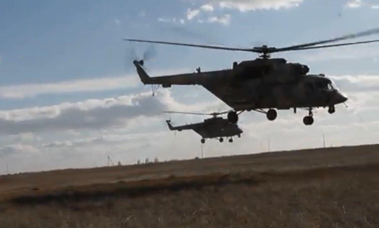 Учения ВС РФ на территории временно оккупированного Крыма (январь 2020 г.)