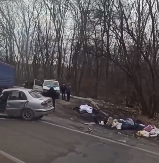 Авария в Харьковской области