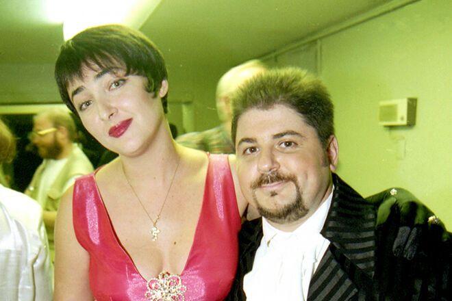 Олександр Цекало і Лоліта Мілявська