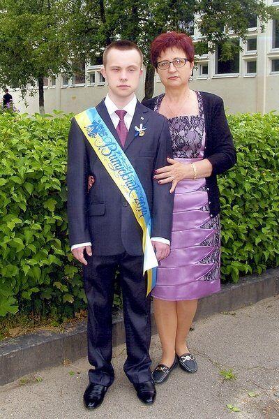 Богдан Ковальчук із мамою