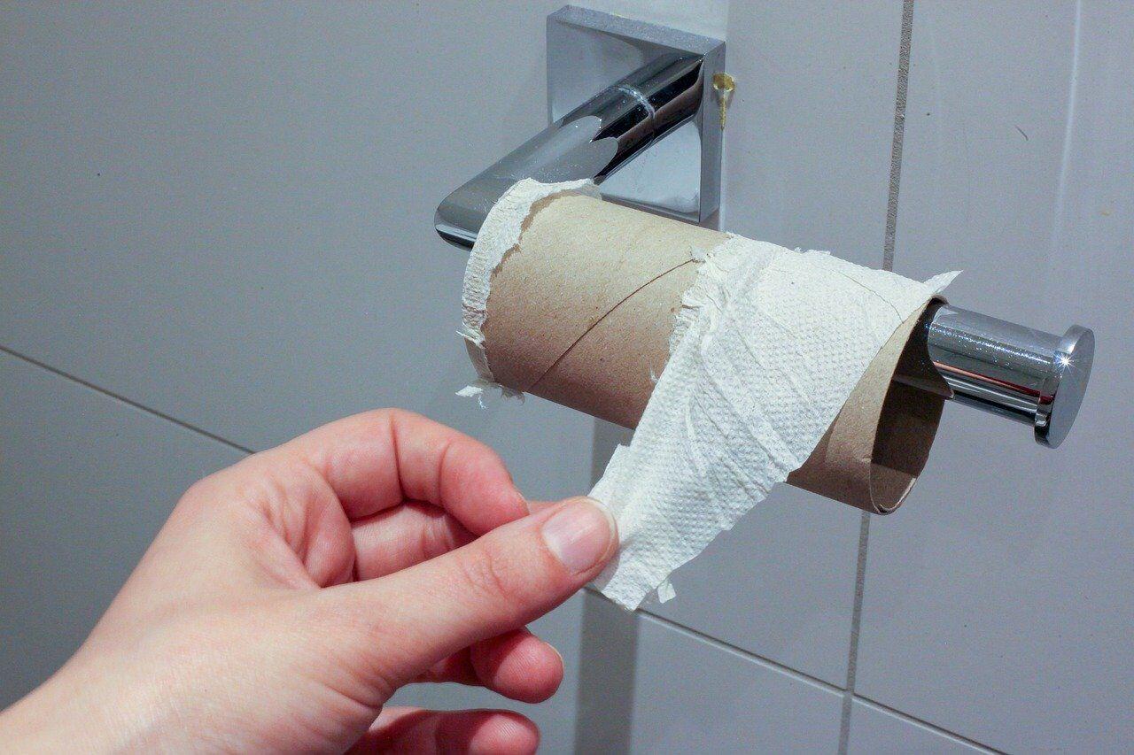 Почему люди скупают туалетную бумагу во время карантина