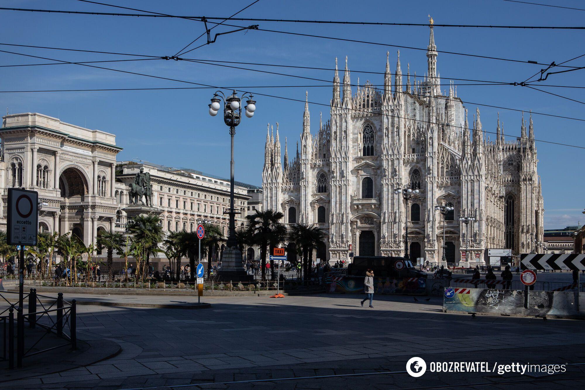 Охоплена вірусом Італія