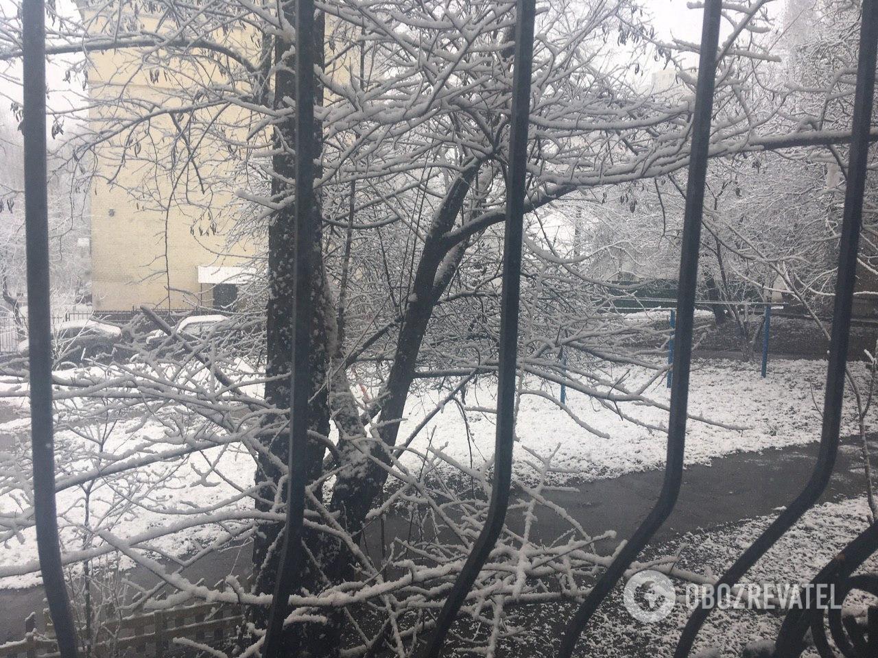 Снег в Киеве, Соломенский район