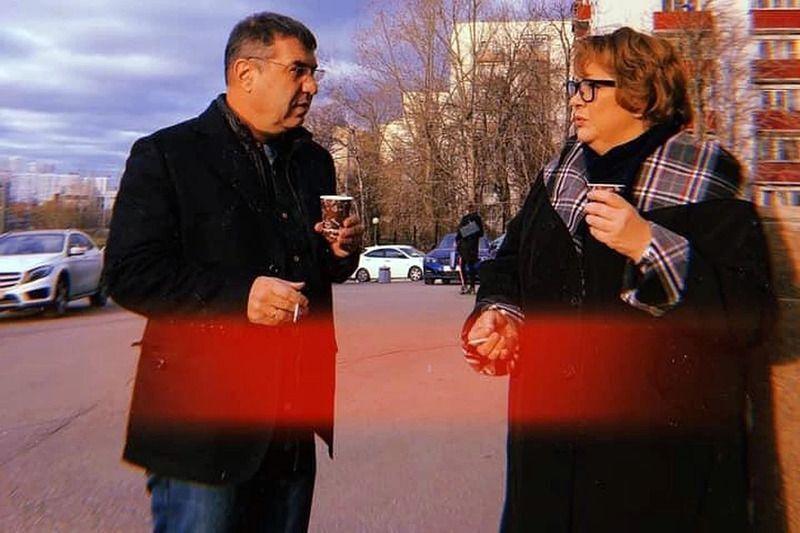 Евгений Гришковец и Татьяна Догилева