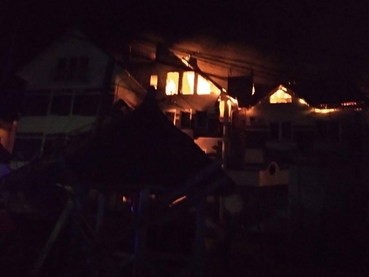 Велика пожежа в Затоці