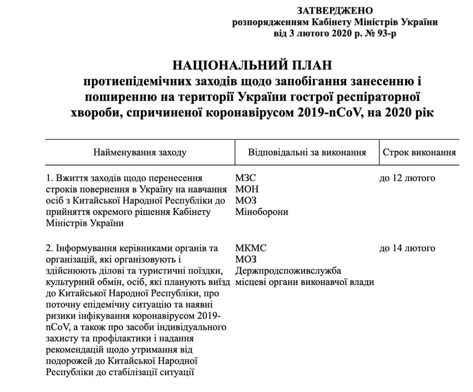 Вивіз тонн масок з України: Гончарук відповів на звинувачення