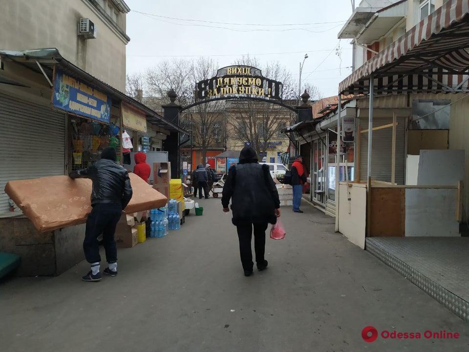 """Одеський """"Привоз"""" спорожнів через карантин"""