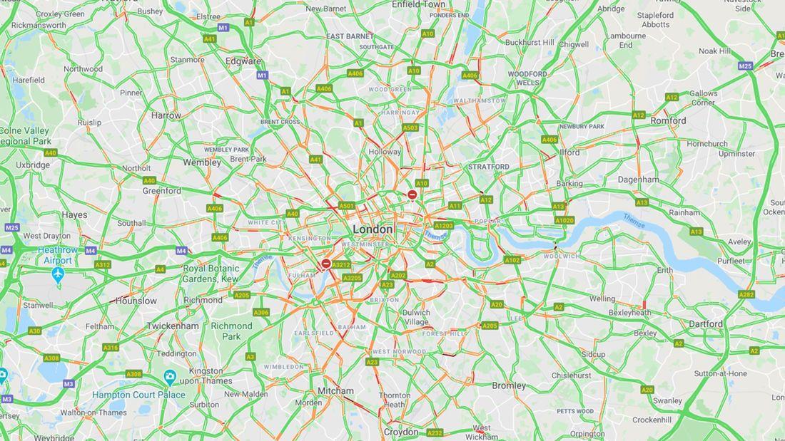 Лондон після вірусної інфекції