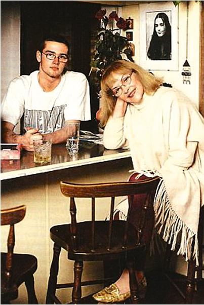 Барбара Брильська з сином Людвігом