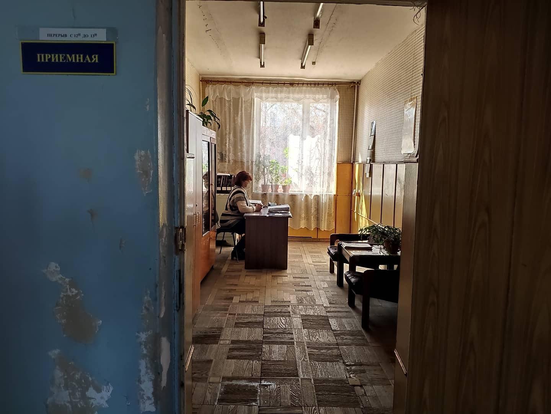Больница в Рубежном, которая должна принимать больных с COVID-19