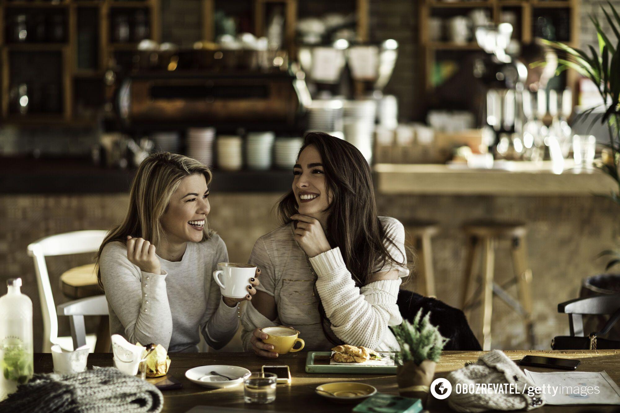 Встреча за чашечкой кофе