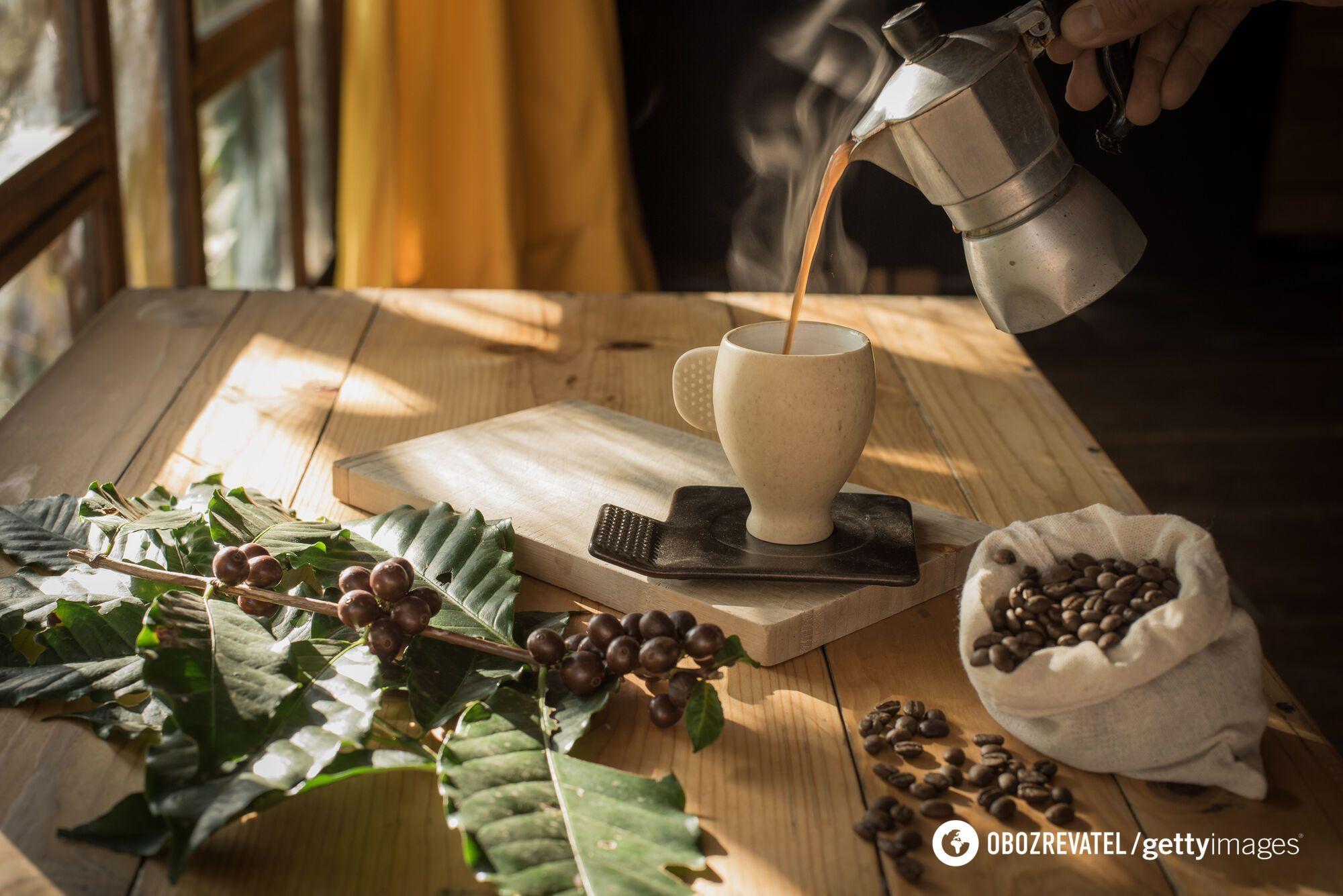 Кофейный аромат подавляет чувство голода