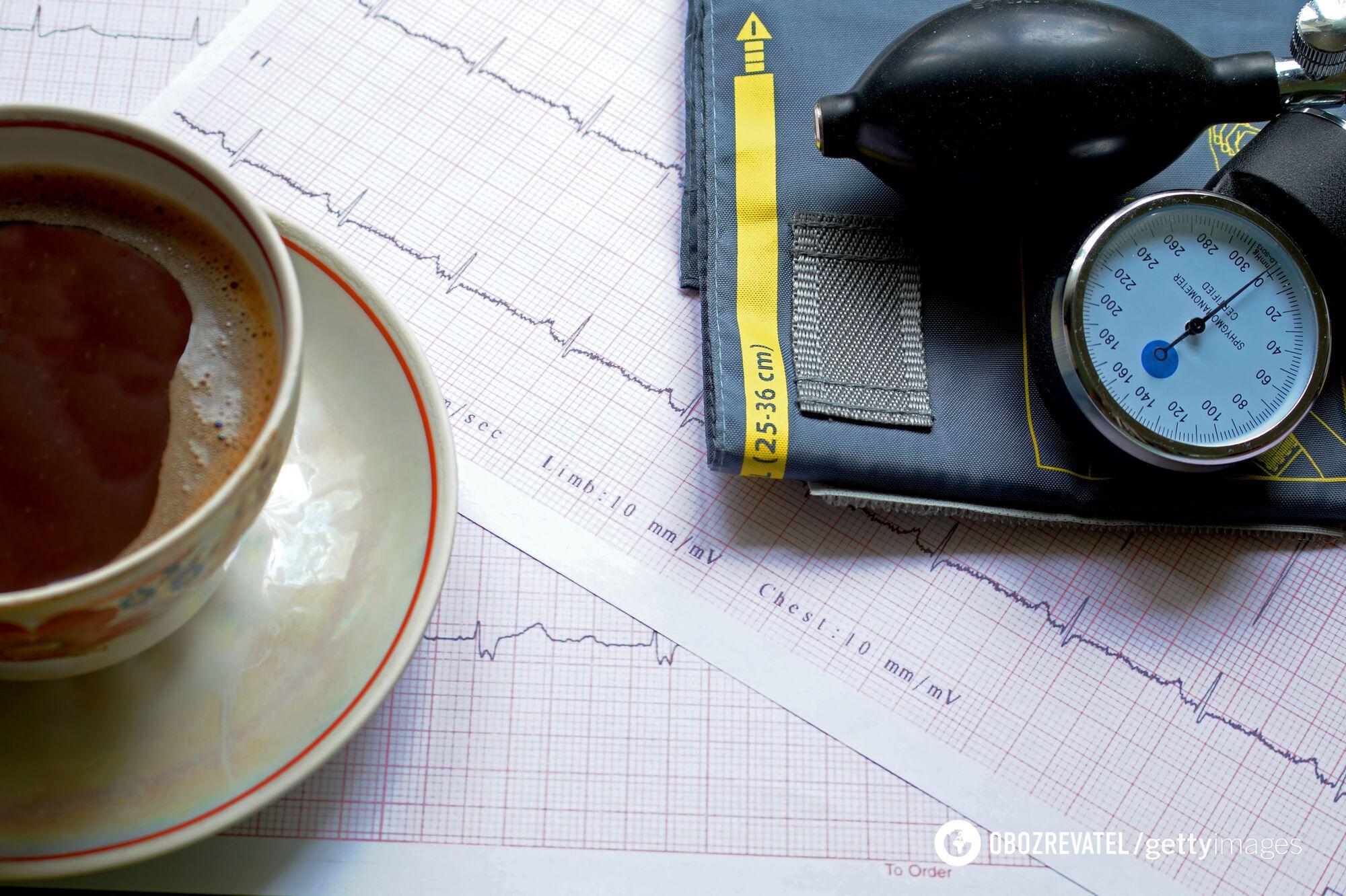 Кофе повышает артериальное давление