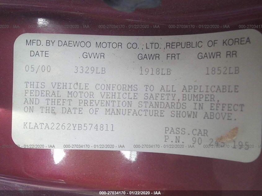 Daewoo Lanos за $350