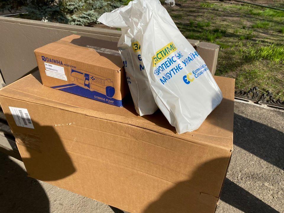 Гончаренко передав до Одеси обладнання для боротьби з коронавірусом від Фонду Порошенка