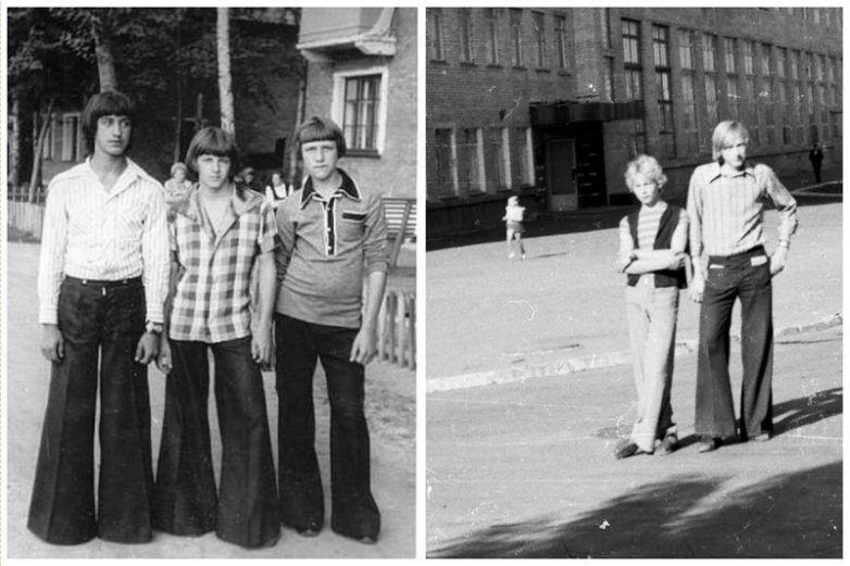 Головний модний тренд СРСР: як носили штани-кльош. Фото
