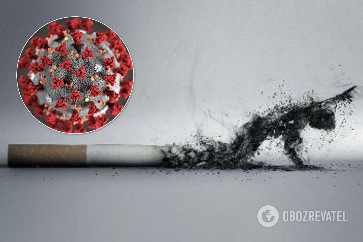 Куріння підвищує ризики тяжкого перебігу COVID-19