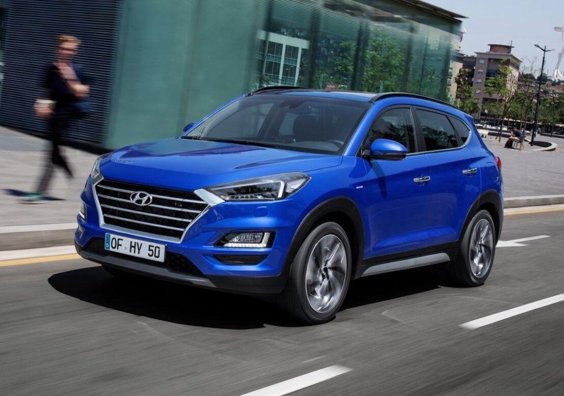 Глобальна версія Hyundai Tucson виглядає інакше