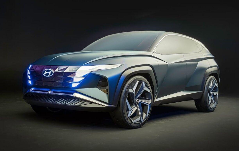 Четвертий Hyundai Tucson буде схожий на Hyundai Vision T Concept
