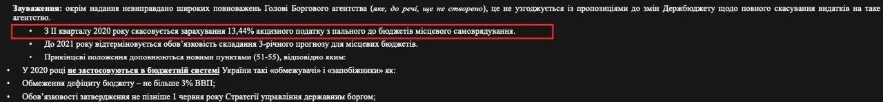 """Кабмін запропонував """"перекроїти"""" Держбюджет-2020"""