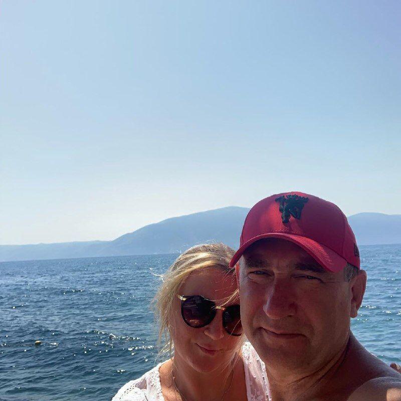 Инна Белоконь с мужем