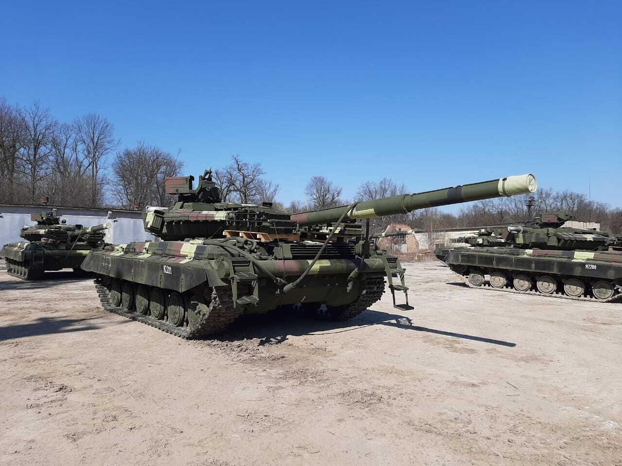 ВСУ получили новые танки Т-64