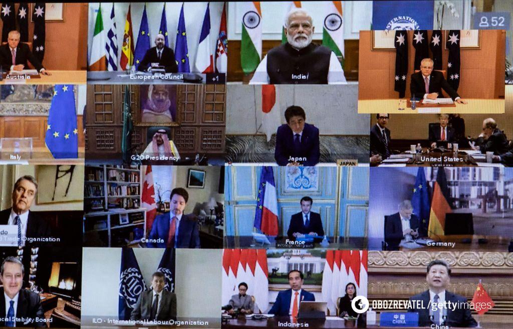 Состоялся первый в истории онлайн-саммит G20: как мир будет бороться с коронавирусом