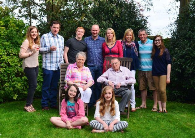 Джейн Джей із сім'єю