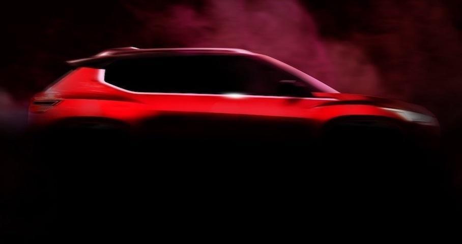 Nissan потроху показує дизайн Magnite 2020