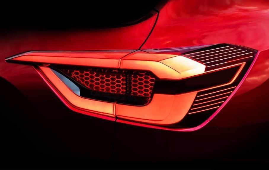 Стильні задні ліхтарі Nissan Magnite диктують зовнішність всього автомобіля
