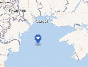 Россия под прикрытием военных кораблей ворует украинский газ в Черном море