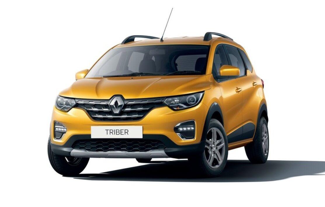 Семимісний кросовер Renault Triber побудований на тій же платформі