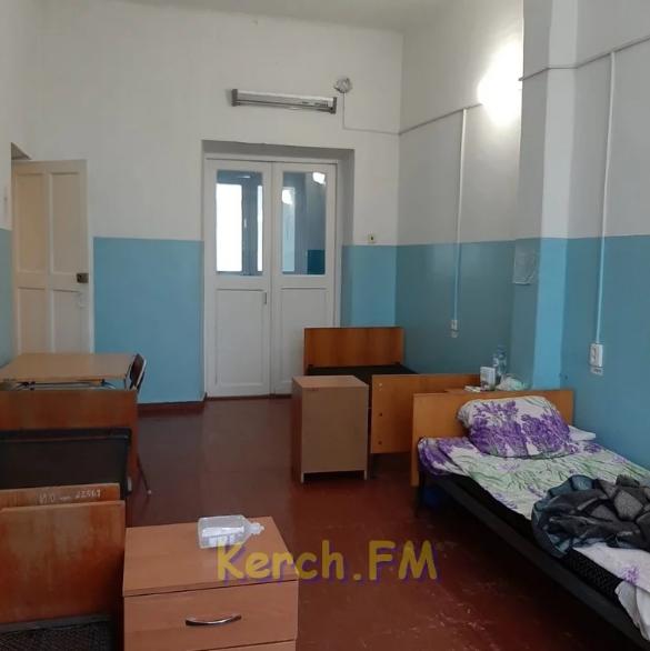 Инфекционная больница в оккупированной Керчи