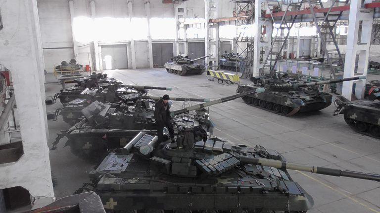 ХБТЗ надав ЗСУ 13 модернізованих танків