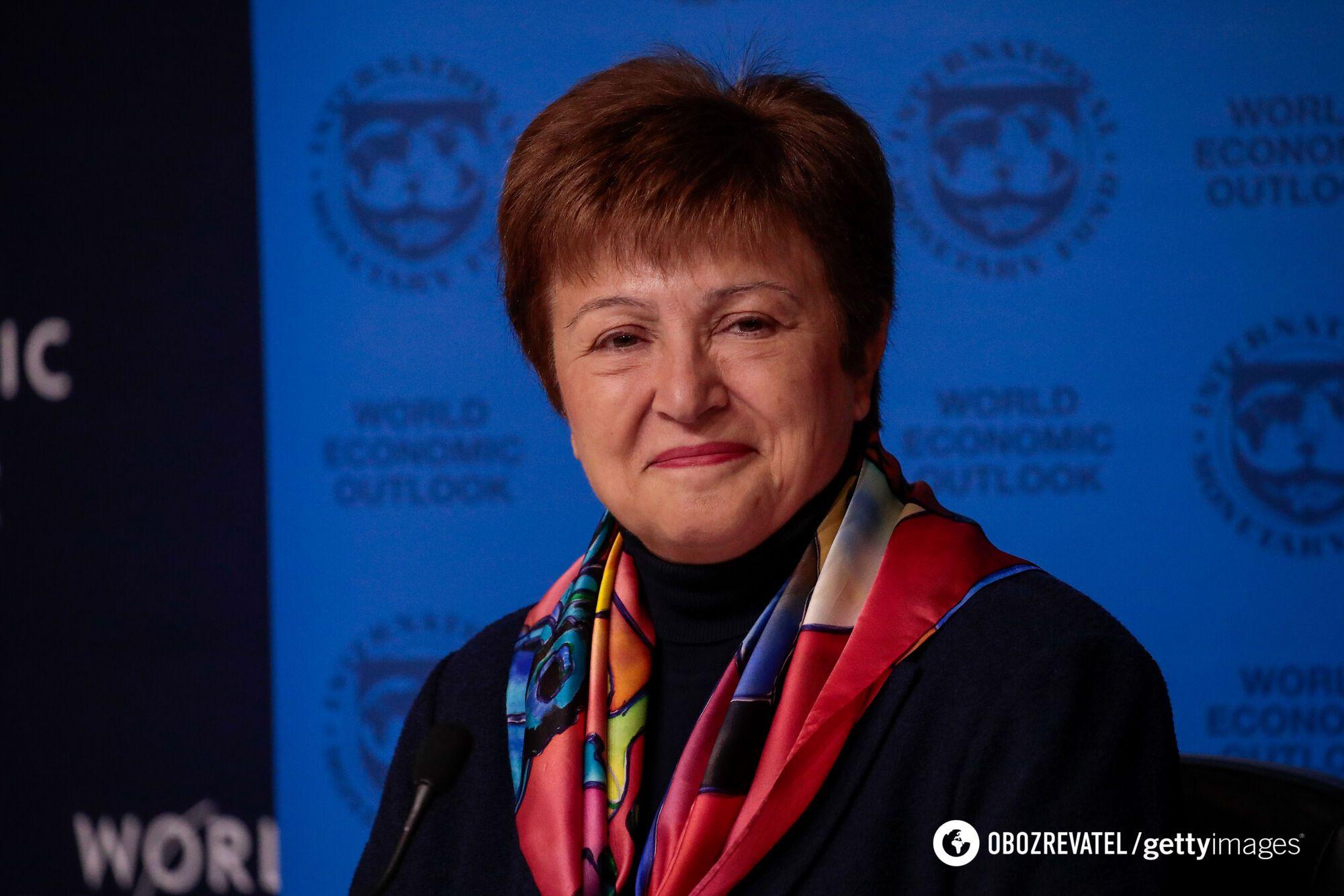 Крісталіна Георгієва поставила дві умови Україні
