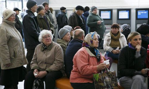 В Крыму очень много пенсионеров